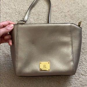 Ralph Lauren gold crossbody bag